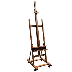 Easel on Wheels